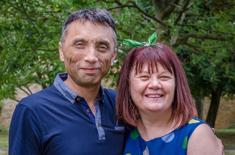 Ed and Angela